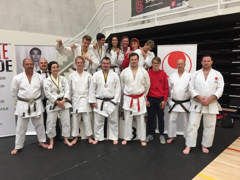 Groepsfotot Vlaams kampioenschap 2016